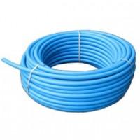 Труба ПЕТ Ф  110 (10 атм.)  питьевая синяя полоса
