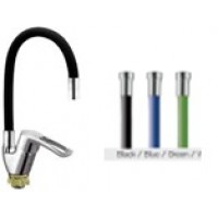 Смеситель на кухню  Zerix SAR 181 REFLECTOR  рефлектор черный синий зеленый