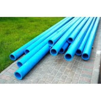 Труба ПЕТ Ф  315 (6 атм.)  питьевая синяя полоса