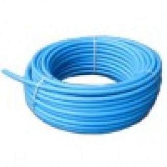 Труба ПЕТ Ф   25 (6 атм.)  питьевая синяя полоса