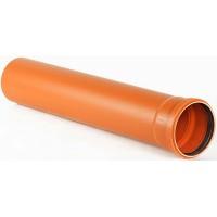 Труба  ø110 х 3м наружная канализация